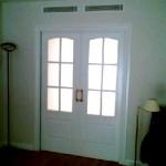 Puertas plafonadas lacadas 1
