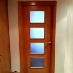 Puertas lisas de madera 26