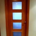 Puertas lisas de madera 27
