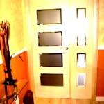 Puertas lisas de madera 36
