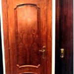 Puertas plafonadas de madera 12