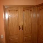 Puertas plafonadas de madera 2