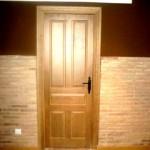 Puertas plafonadas de madera 17