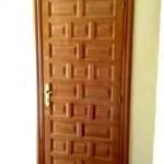Puertas plafonadas de madera 20