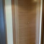 armario 2 puertas roble veta central horizontal