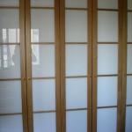 armario cristal lacobel y roble