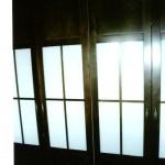 batiente2 4 puertas tono nogal cristal blanco