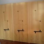 batientes 6 puertas arce diseño especial