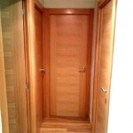 Puertas lisas de madera 9