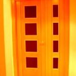 Puertas lisas de madera 12