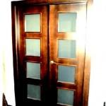 Puertas lisas de madera 13