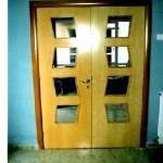 Puertas lisas de madera 14