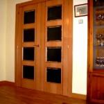 Puertas lisas de madera 15