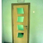 Puertas lisas de madera 20