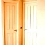 Puertas plafonadas lacadas 2