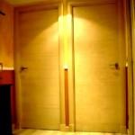 Puertas lisas de madera 34