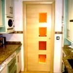 Puertas lisas de madera 33