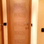 Puertas lisas de madera 38
