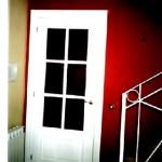 Puertas plafonadas lacadas 26