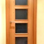 Puertas lisas de madera 40