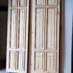 puerta pino macizo