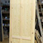 puerta pino macizo a medida fabricacion