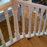 escalera lacada blanco pisas haya alistonada tono haya3