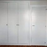 armario batiente plafonado 3 puertas lacado blanco